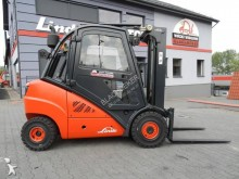 carretilla elevadora Linde H30D Triplex Side Shift