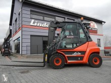 Carretilla elevadora carretilla diesel Linde H60D H60D side shift