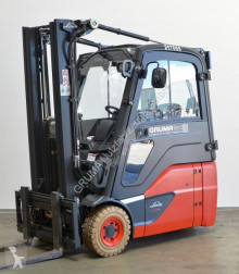 Linde E 16/386-02 EVO used electric forklift