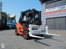 Wózek diesel Linde H70D-02 Triplex , Fork positioner ,side shift