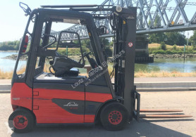 Linde E25-01 used electric forklift