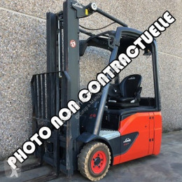 Linde E16L-01 used electric forklift