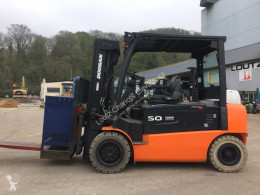 Doosan B50X used electric forklift