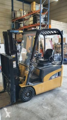 Caterpillar ep16nt used electric forklift