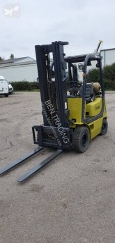 Clark used gas forklift