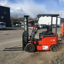 Heli electric forklift