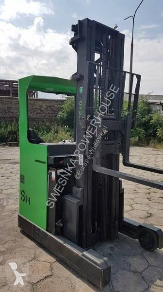 Ver las fotos Carretilla elevadora Cesab Cesab R214 Wózek wysokiego składowania reachtruck