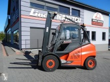 Linde H45D H45D-02 Triplex ,Side shift used diesel forklift