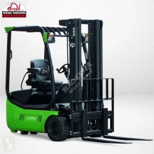 EP EP L2 (2000 kg) battery Li-Ion 3-wheel forklift , triplex , side shift електрокар нови