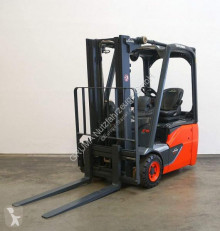 Linde E 15/386-02 EVO used electric forklift