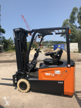 Doosan B18T-7 used electric forklift