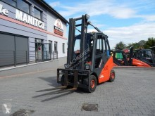 Linde H25D Fork positioner with side shift chariot diesel occasion