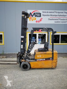 Used electric forklift Caterpillar EP20KT