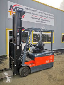 Toyota 7fbef16 used electric forklift