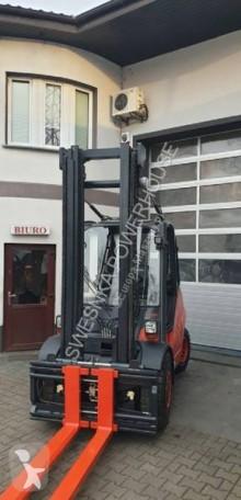 Empilhador elevador Linde Linde H50D-02 wózek widłowy empilhador diesel usado
