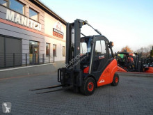 Linde H35T Triplex , side shift used gas forklift