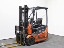 Toyota 7 FBEST 15 used electric forklift
