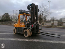 TCM FG70Z8 damaged gas forklift