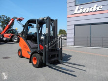 Wózek na gaz Linde H25T-02 Triplex , side shift