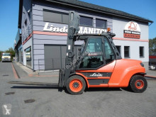 Linde H80D-02/1100 Triplex , side shift Kaup used diesel forklift