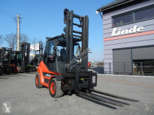 Carretilla elevadora Linde H60T-02 Duplex , Side shift carretilla de gas usado