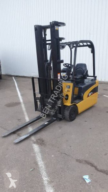 Caterpillar EP16 used electric forklift