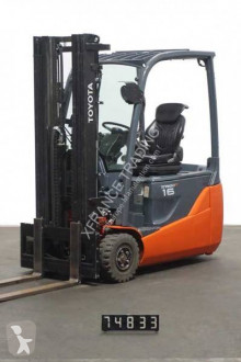 Toyota electric forklift 8FBET16