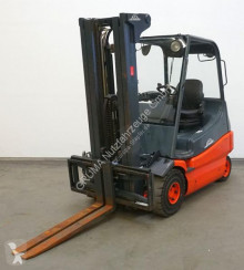 Linde E 25/336-02 used electric forklift