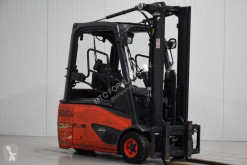 Linde E16L-02 used electric forklift