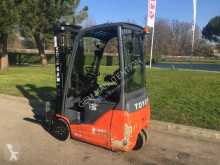 Toyota 8FBET15 used electric forklift
