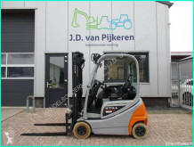 Still RX20-16 triplex5m+sideshift accu79%! 2015 + TUV! used electric forklift