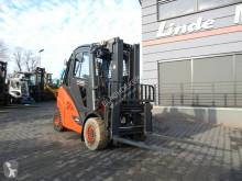 Vysokozdvižný vozík plynový vysokozdvižný vozík Linde H35T-02 Triplex , Fork positioner Kaup