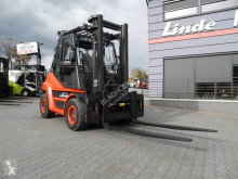 Chariot à gaz Linde H60T-02 Duplex , Side shift