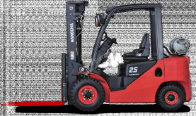 Gasdriven truck Hangcha XF25