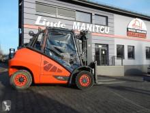 Linde H50T-02/600 Triplex chariot à gaz occasion