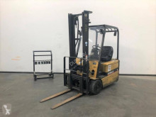 Caterpillar EP 16 KT used electric forklift