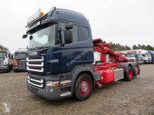 Heftruck Scania R420 6x2 Euro 5 tweedehands