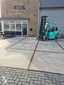 Mitsubishi 3.5t lpg trilp used gas forklift