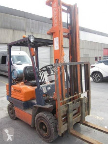 Toyota 5fgf15 used gas forklift