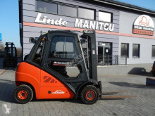 Gazlı forklift Linde H25T Duplex , side shift