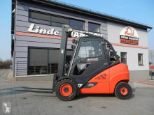Linde H35T-02 Duplex , side shift chariot à gaz occasion