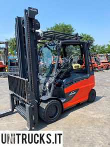 Linde used electric forklift