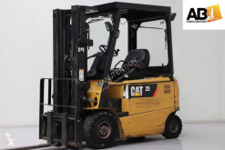 Caterpillar EP25K used electric forklift