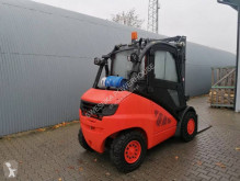 Linde H45 LPG Triplex 5.5m chariot à gaz occasion