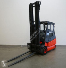 Linde E 25/600/336-02 used electric forklift