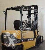 Caterpillar EP35K used electric forklift