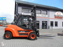Linde gázüzemű targonca H80T-02/900 Side shift
