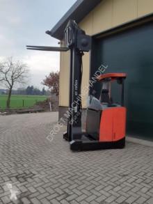 Chariot à mât rétractable BT RRE 160 reachtruck elektrische met sidesift en lepelversteling neuf