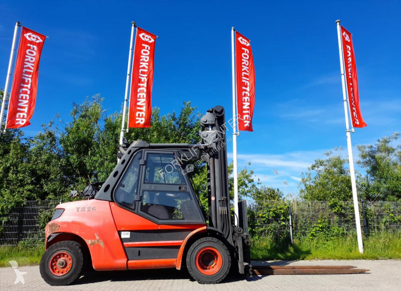 View images Linde H80T-02/900 4 Whl Counterbalanced Forklift <10t Forklift