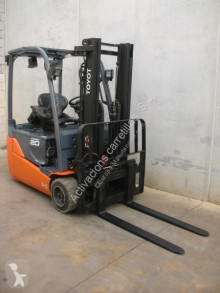 Toyota 8FBE20T used electric forklift